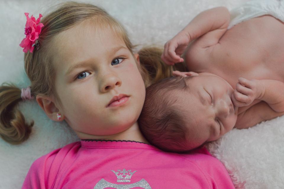 Isanne - newborn reportage